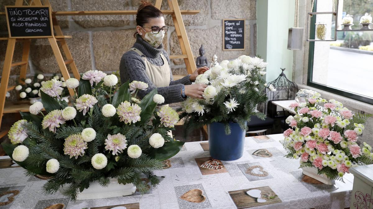 Vanesa López, propietaria de la Floristería Trudel Waidele