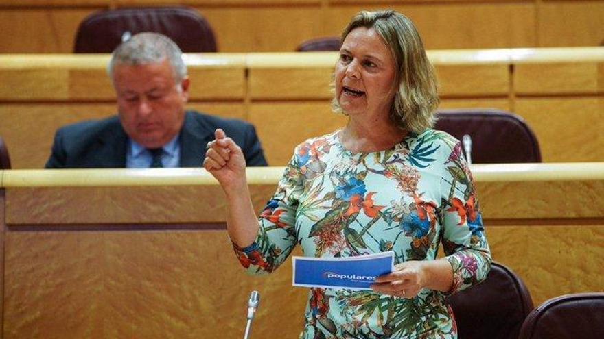 Rifirrafe de María Salom y Pablo Iglesias en el Senado