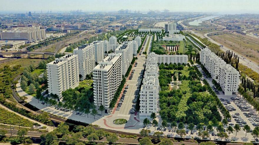 La gran urbanización junto a la nueva Fe podría tener también uso universitario y clínico