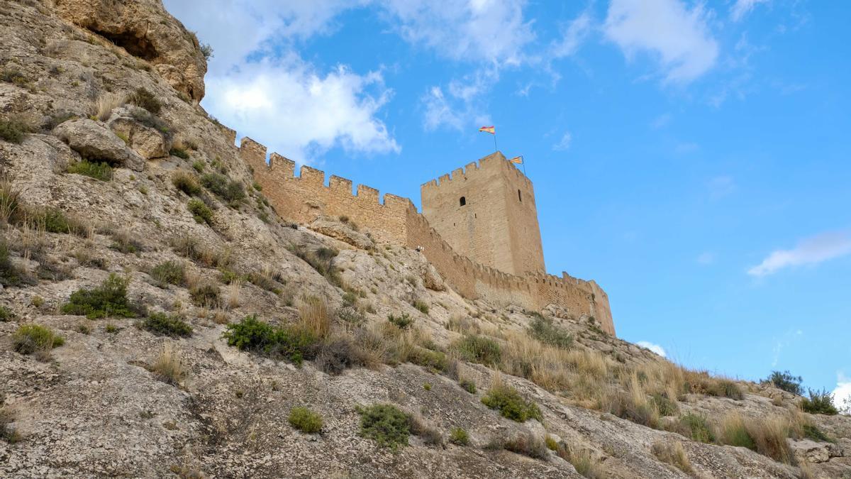 El castillo de Sax, símbolo de la villa del Alto Vinalopó.