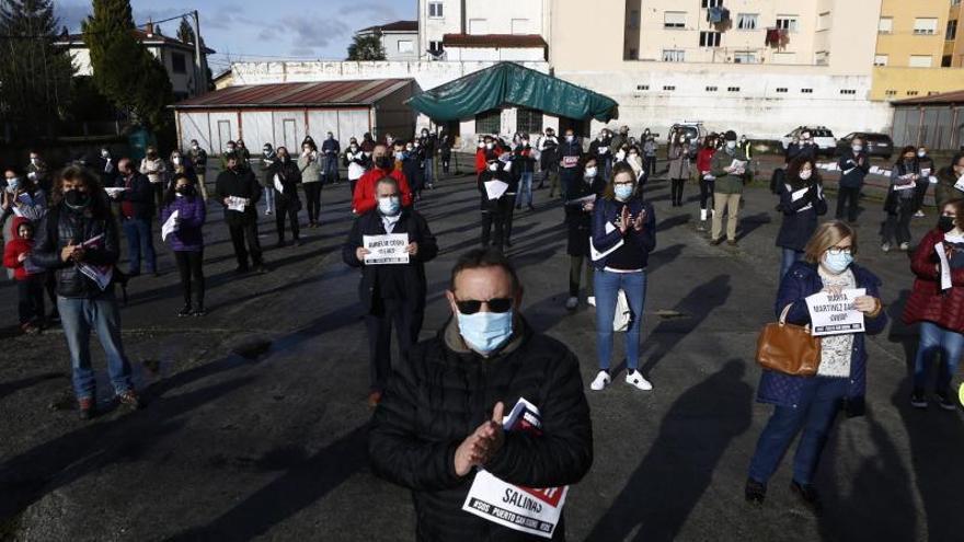 """Protesta vecinal para mejorar San Isidro: """"Hay 24 puntos de riesgo extremo de alud"""""""