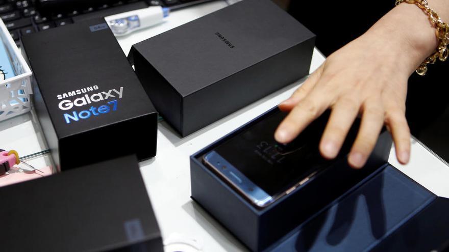 Samsung envía cajas ignífugas para devolver el Galaxy Note 7