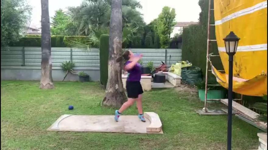 Un pasillo para entrenar en casa
