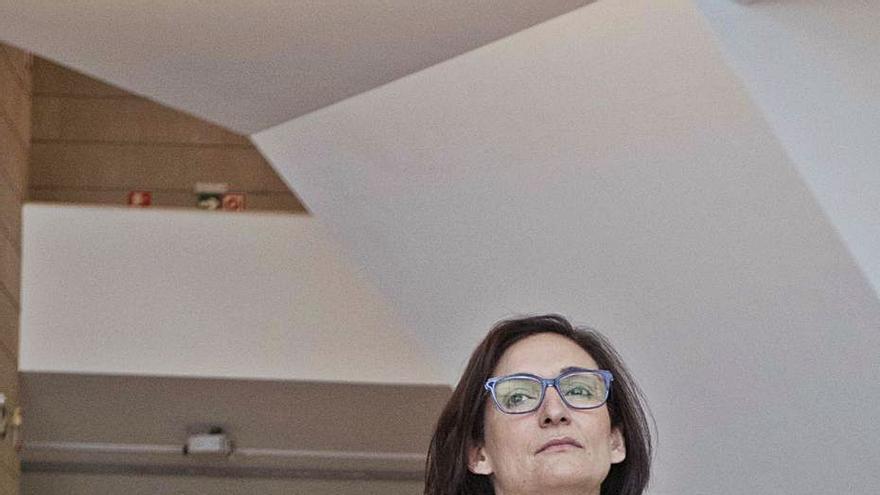 """Nuria Enguita: """"Hay que pensar con el ayuntamiento el IVAM del Parc Central"""""""
