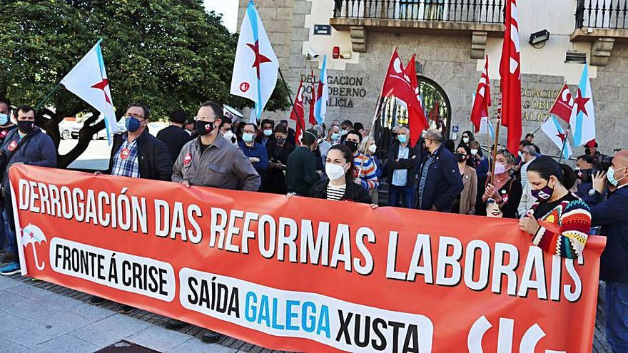 """La CIG reclama a Yolanda Díaz """"decisiones políticas"""" para derogar ya la reforma laboral"""