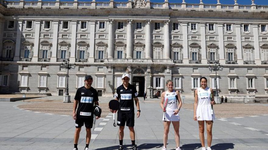 Madrid, parada previa a Vigo del World Padel Tour