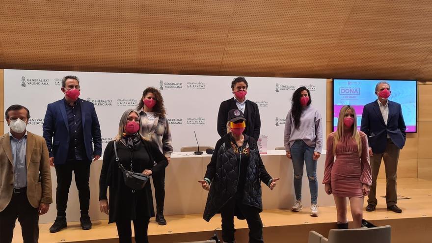 Francesc Colomer participa en la presentación de la 4ª edición del Festival del Día de la Dona que organiza FOTUR