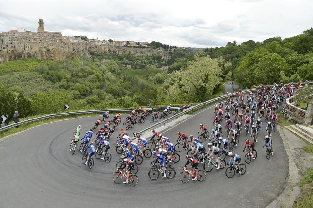 Giro de Italia: Cuarta etapa entre Orbetello - Frascati