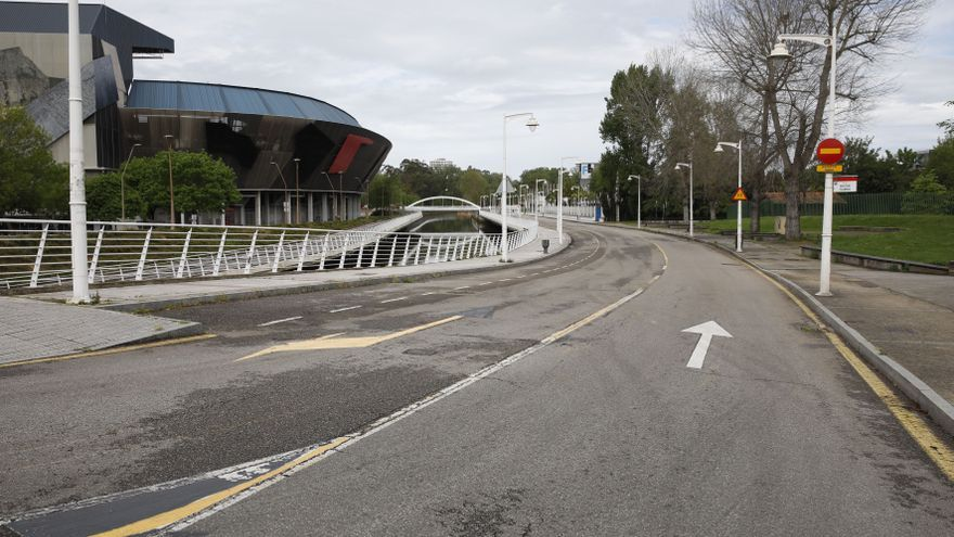 La reforma del área de El Molinón incluirá un vial junto a la Feria y un aparcamiento en altura