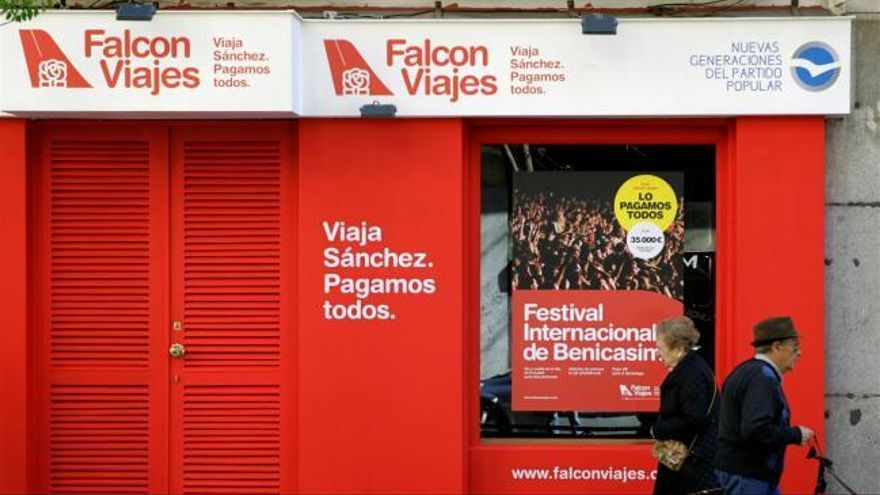 El Falcon y los impuestos en campaña