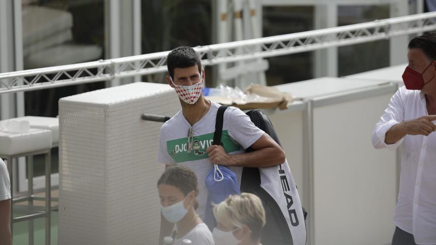 Djokovic ya prepara Wimbledon en Mallorca