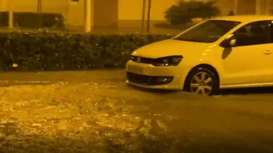Lluvias torrenciales e inundaciones en Sagunt