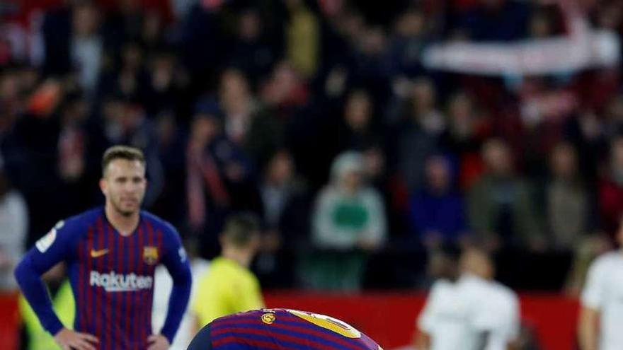 El Barça naufraga sin Messi
