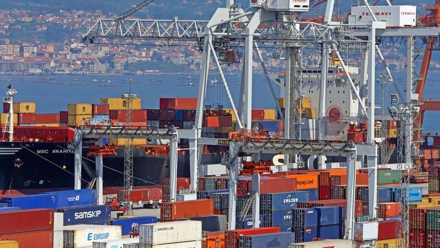 Galicia arranca el año con exportaciones récord: más de 2.000 millones en solo un mes