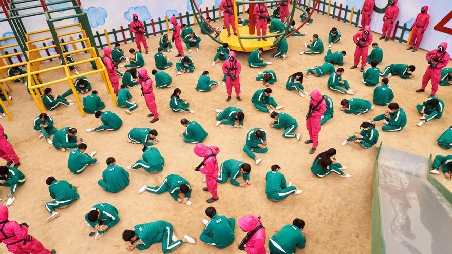 Netflix informa de que 'El juego del calamar' es el estreno más visto en la plataforma