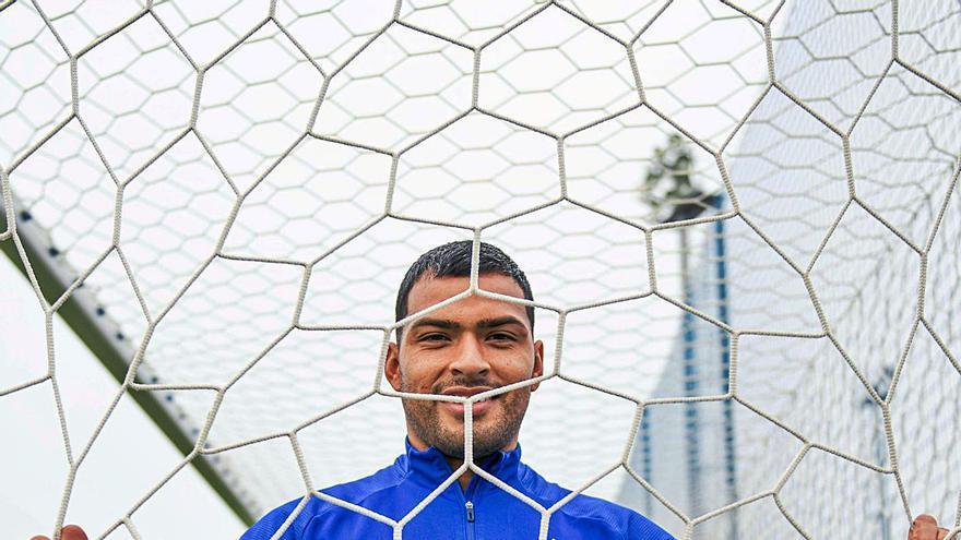 """Nahuel se descubre antes del derbi: """"Ganar al Sporting es la mejor manera de cortar la mala racha"""""""