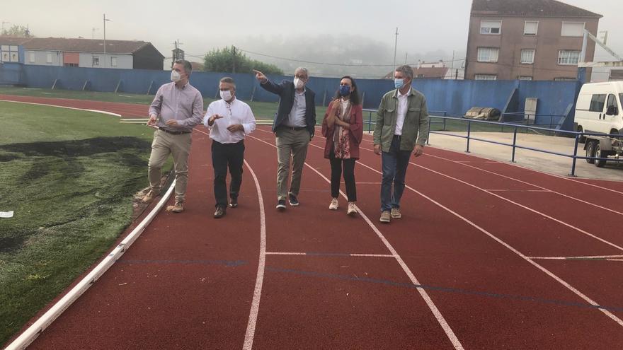 Marín moderniza el campo de fútbol de San Pedro