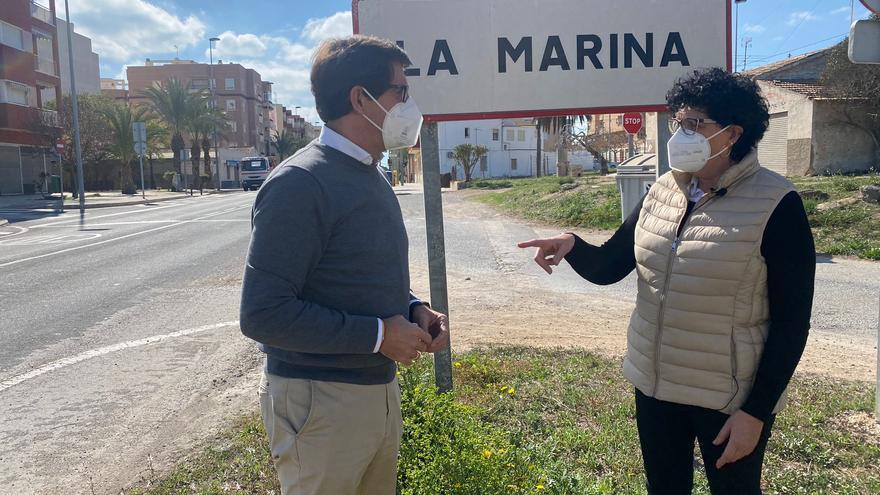 El PP acusa al PSOE de dañar las pedanías de Elche