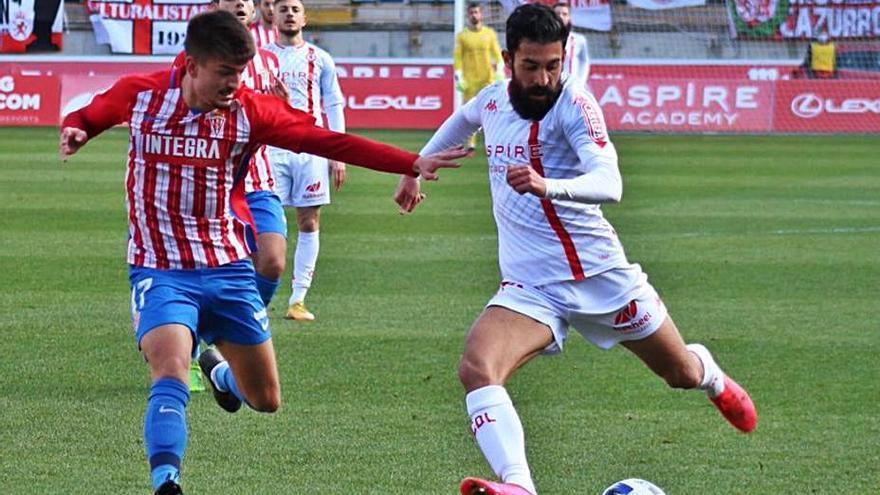 Fútbol, Segunda División B: El Sporting B sigue de dulce y logra un valioso punto en León