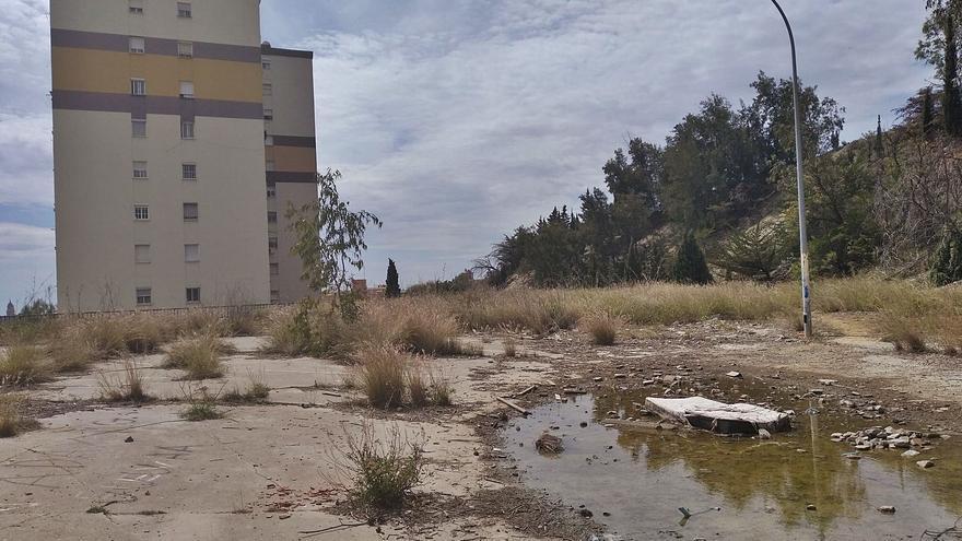 El campo de fútbol más precario de Málaga