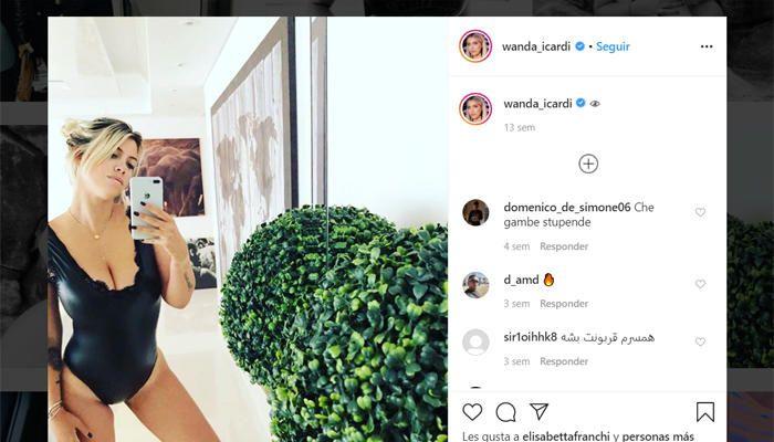 Wanda Nara, mujer de Icardi, desafía la censura
