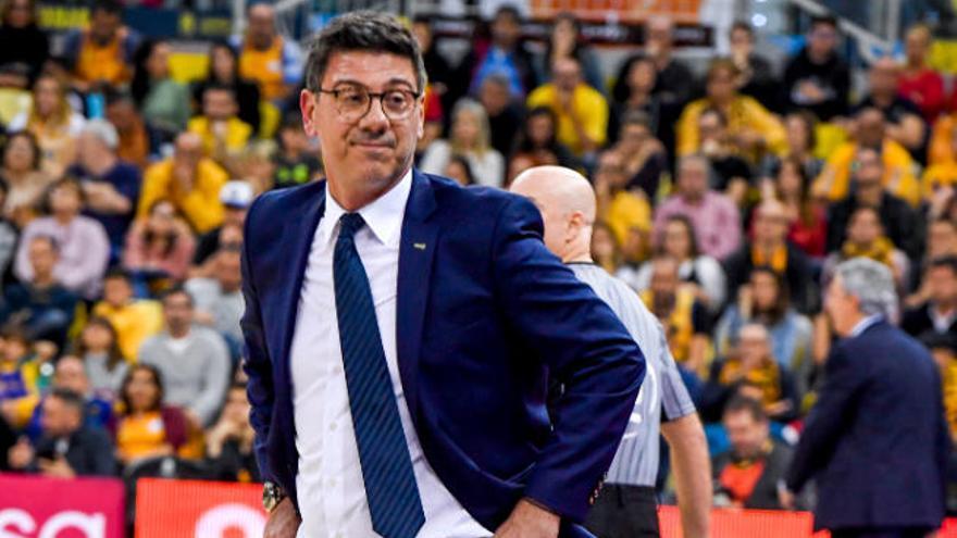Katsikaris ya entrena con la plantilla entera al volver de sus partidos FIBA