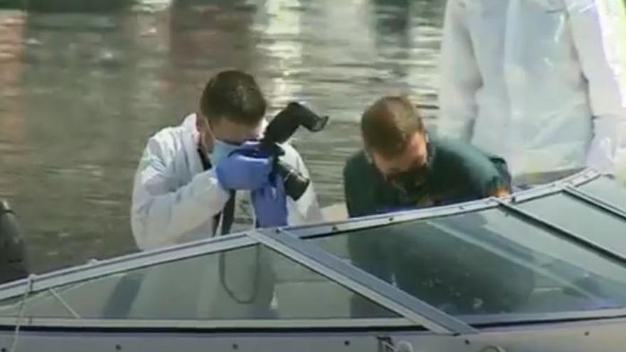 Los investigadores sospechan que Gimeno usó piedras para lastrar los cuerpos de Anna y Olivia en el mar