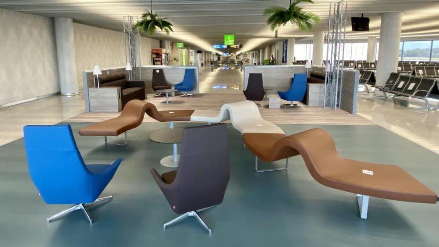 Bitte betreten Sie Ihre Komfortzone (am Flughafen Mallorca)