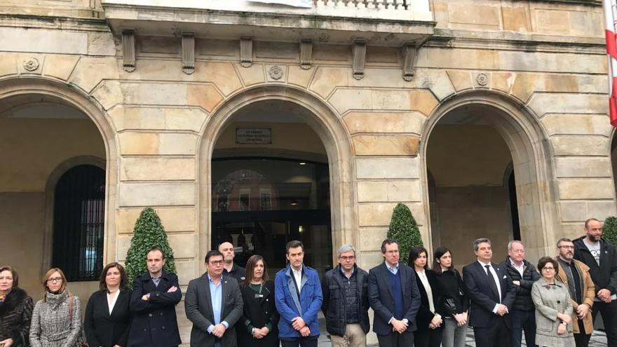 Gijón recuerda a las víctimas del terrorismo
