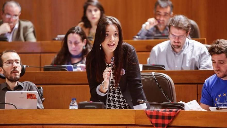 "Podemos acusa a la DGA de montar un ""teatrillo vergonzoso"" en torno a Sijena"