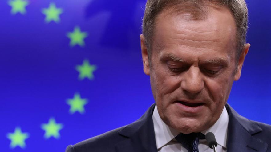 """Tusk dice que hay un """"lugar en el infierno"""" para quienes apoyaron el Brexit"""