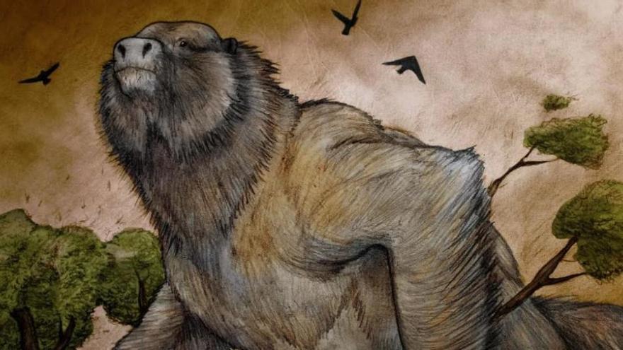 Descubren el fósil de un perezoso ancestral tan grande como un elefante