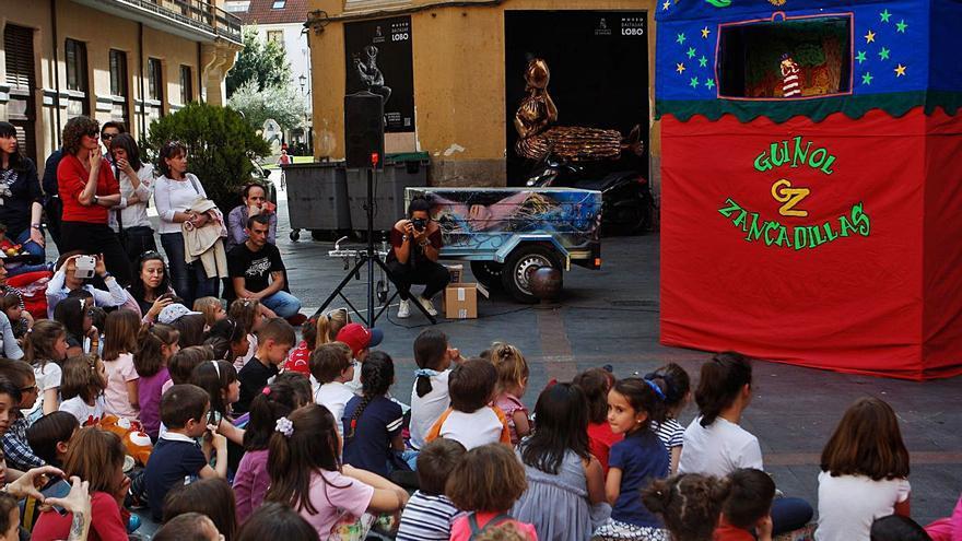 Los guiñoles toman las calles de Zamora