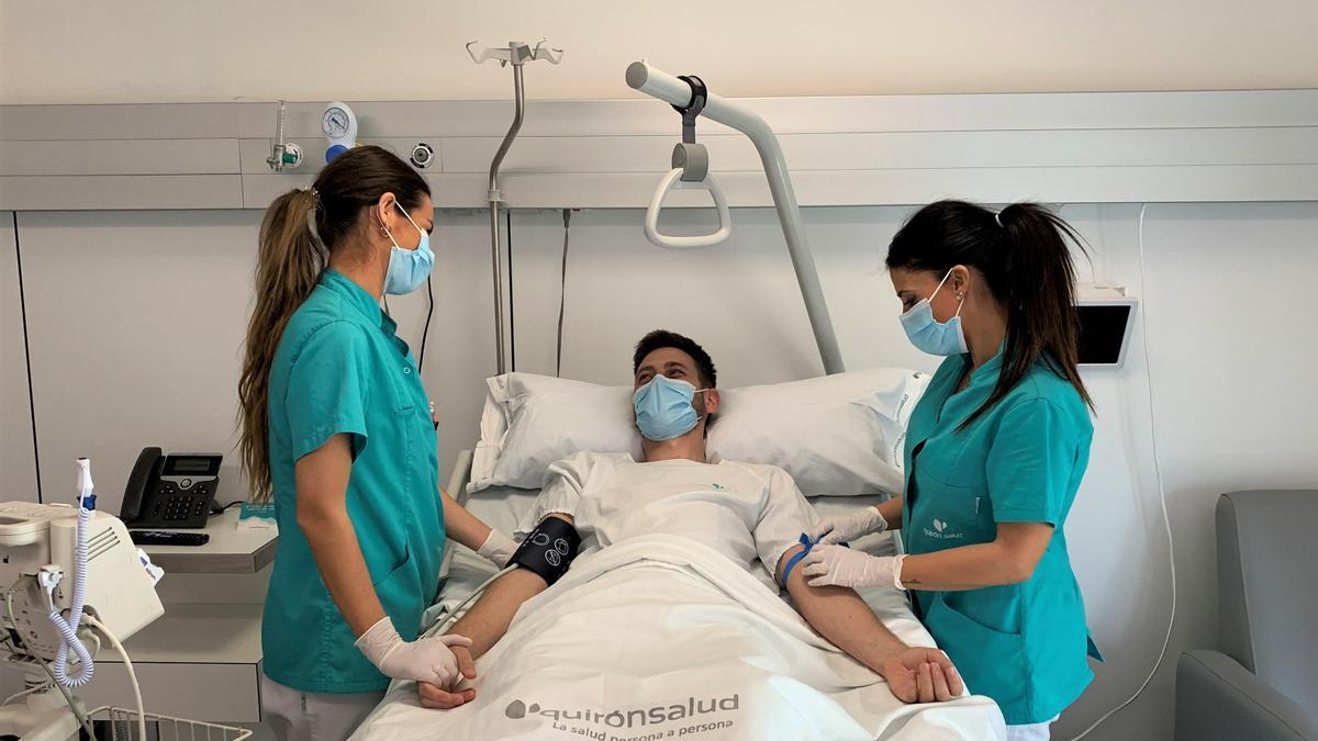 El hospital Quirónsalud Córdoba dedica el Día de la Enfermería a destacar la labor de este servicio.