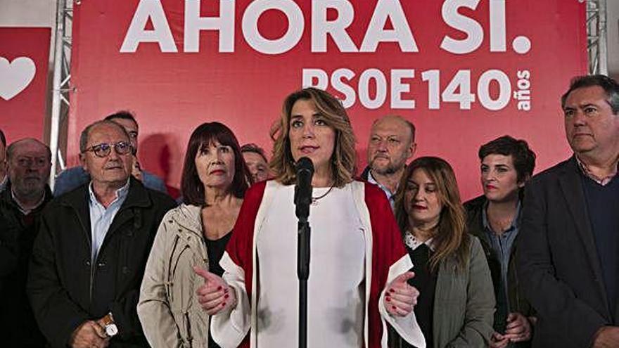 Susana Díaz es limita a demanar perdó pels EROs d'Andalusia sense assumir responsabilitats