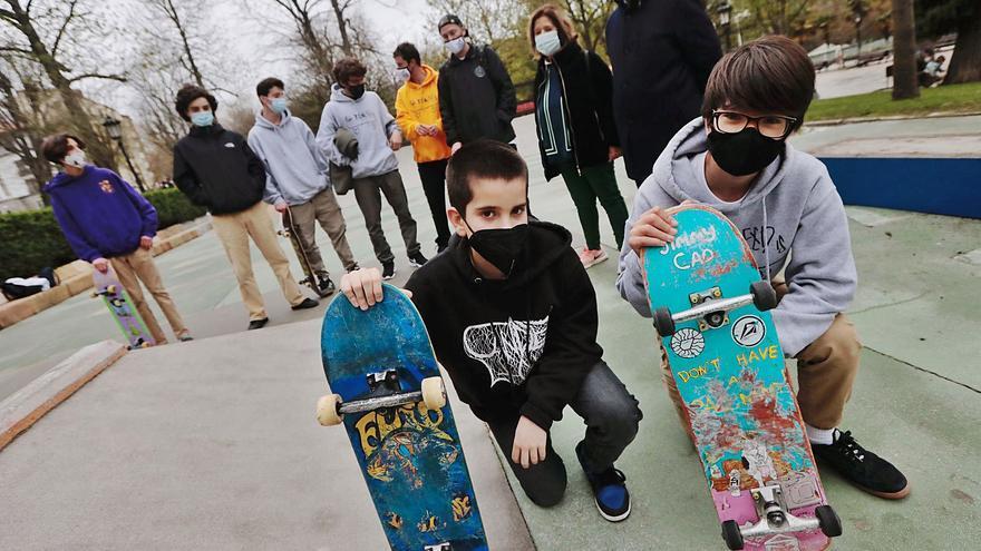 El skate celebra a su héroe