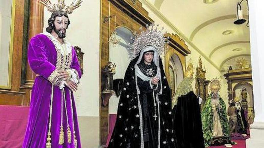 Las imágenes de Semana Santa recorren la Sierra de las Nieves