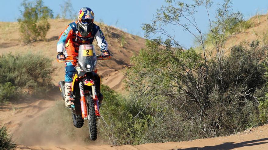 Matthias Walkner, campeón en motos