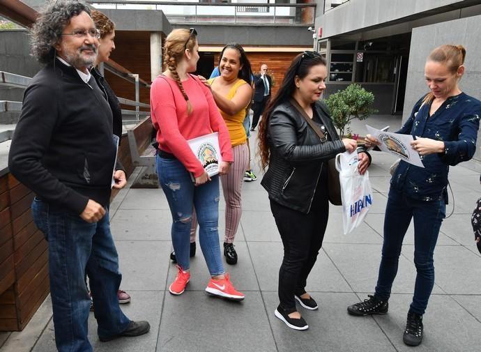 11/06/2019 SAN JUAN. TELDE.  Los vecinos del Valle de Los Nueve van a juicio por la denuncia que interpone el SAREB. Fotógrafa: YAIZA SOCORRO.    11/06/2019   Fotógrafo: Yaiza Socorro