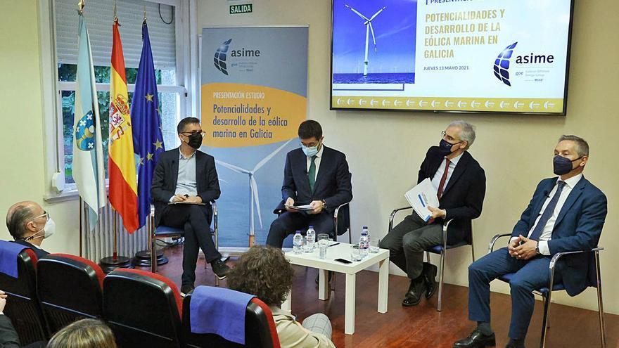 Galicia puede cubrir con eólica marina todo su consumo eléctrico en zonas sin impacto