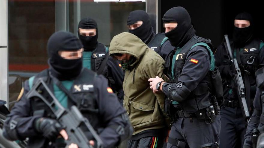 Casi 400 detenidos en España por yihadismo desde 2012
