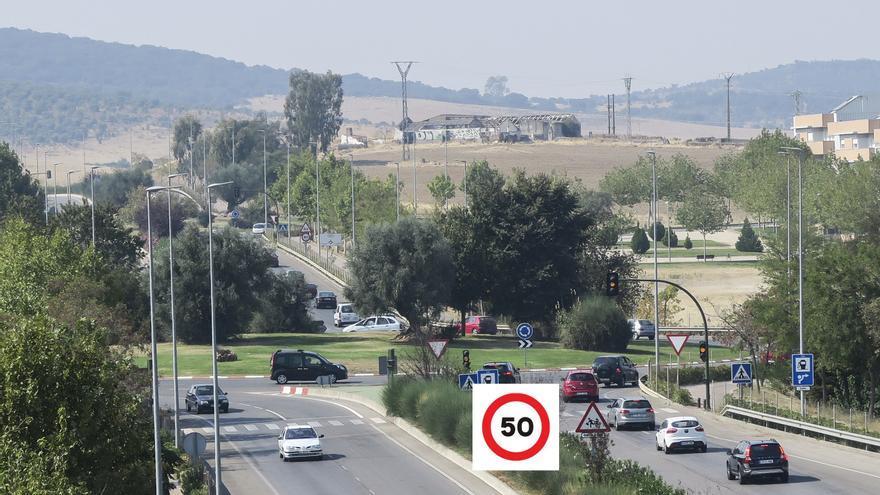 Cáceres tendrá un límite máximo de 50 km/h