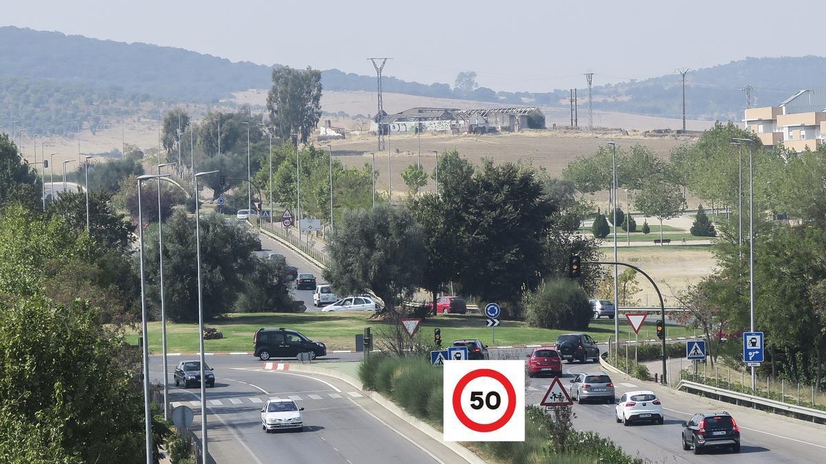 Nuevo límite en la ronda Norte, que se extiende a todas las vías con dos o más carriles por sentido, sin excepciones, incluida la futura ronda Este.