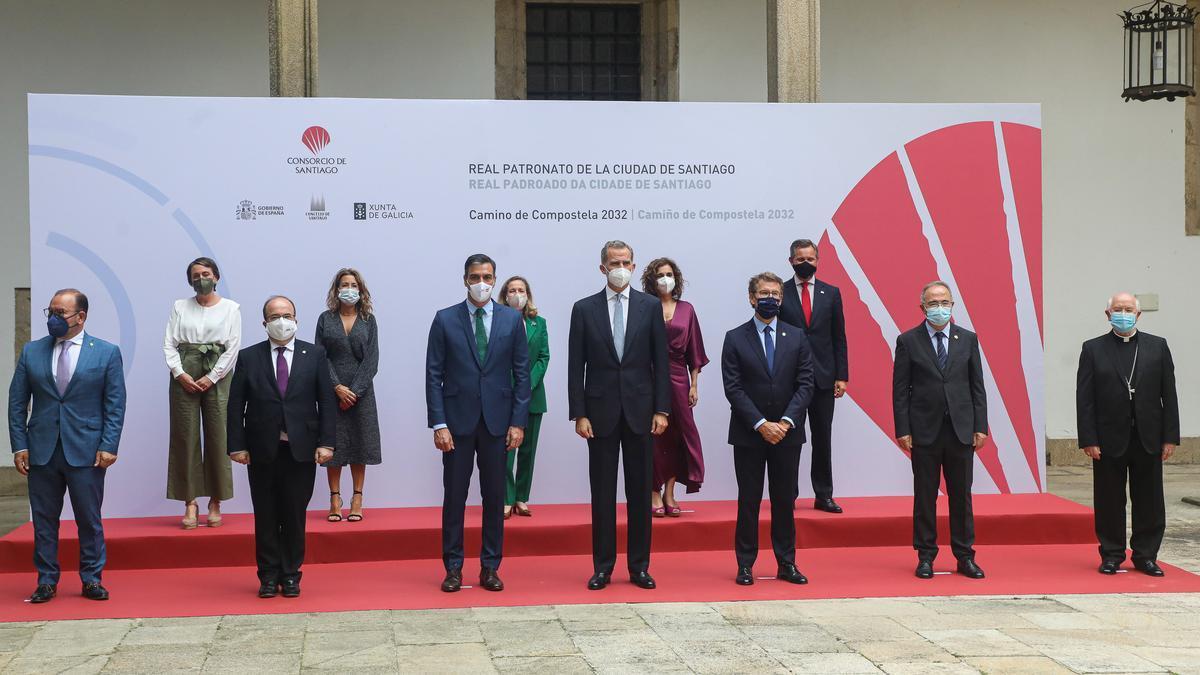 Reunión del Real Patronato de Santiago
