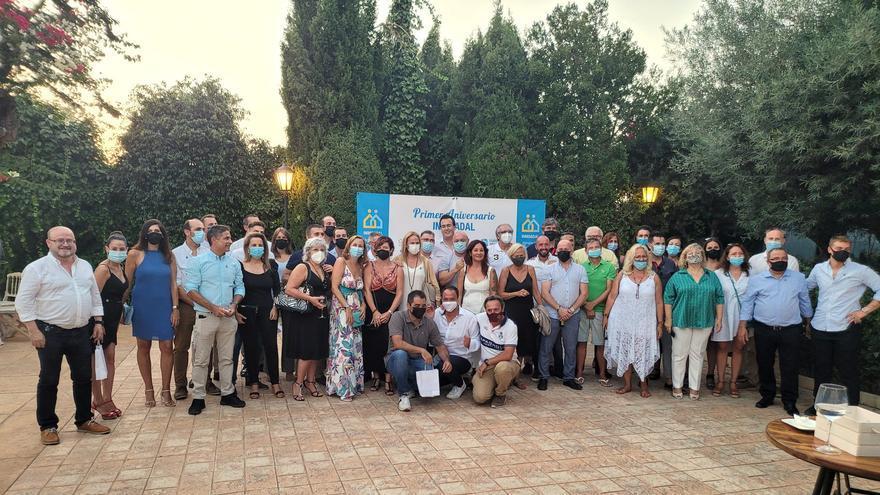 Inmoadal cierra su primer año de existencia con 85 profesionales y 20 agencias