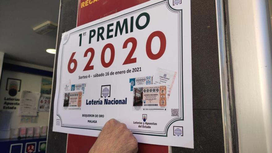 El primer premio de la Lotería Nacional de este sábado, vendido en Lagunillas