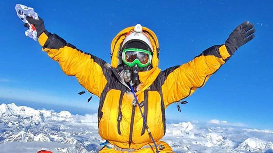 Sangre alcoyana en el Everest