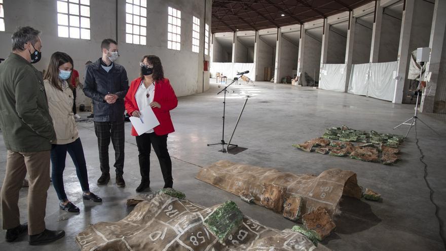 La Diputación estudia qué hacer con el mural de Ripollés abandonado durante 21 años