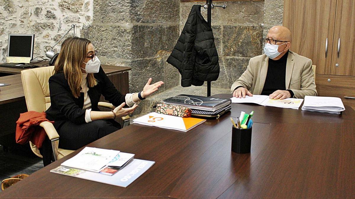 María Amoraga y Manuel Padín, concejales de Cs en Cartagena