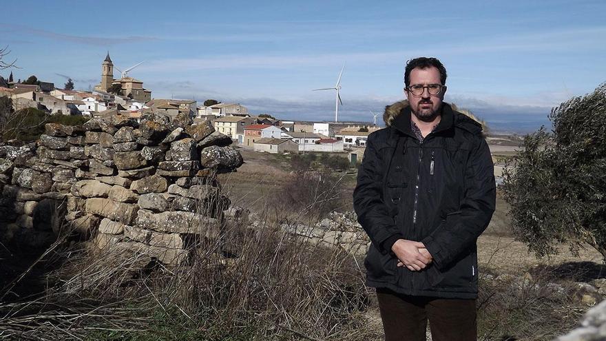 Las Pedrosas, un municipio de las Cinco Villas con el viento a favor